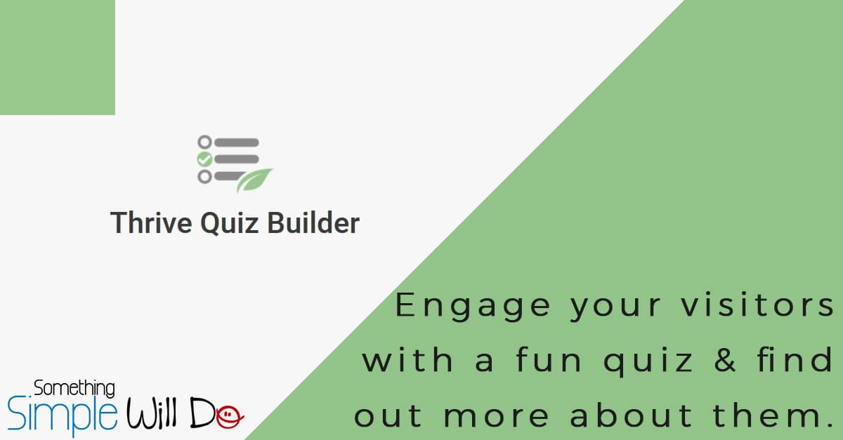 ThriveThemes Quiz Builder WordPress Plugin